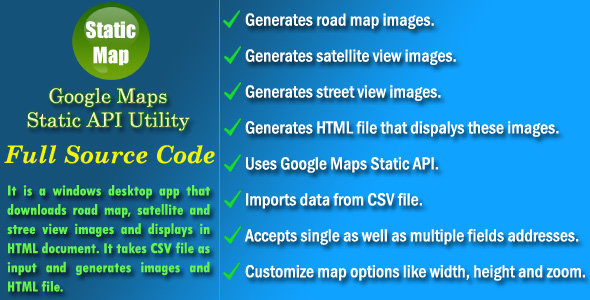 Download] Google Maps Static API Utility - Source Code Nulled