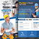 Plumber Service Flyers Bundle Templates - GraphicRiver Item for Sale
