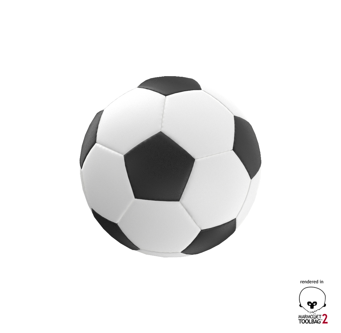 New and Old Soccer Ball PBR