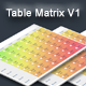 Radio Table Matrix for Gravity Forms