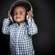 Little boy listens music - PhotoDune Item for Sale