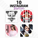 Instagram Post Templates - Fashion - GraphicRiver Item for Sale