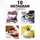 Instagram Post Templates - Dessert - GraphicRiver Item for Sale
