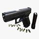 Gun Model Fa Glock - 3DOcean Item for Sale