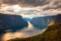 Beautiful Nature Norway Stegastein Lookout. - PhotoDune Item for Sale
