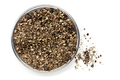 Crushed Black Peppercorns Top View Isolated - PhotoDune Item for Sale