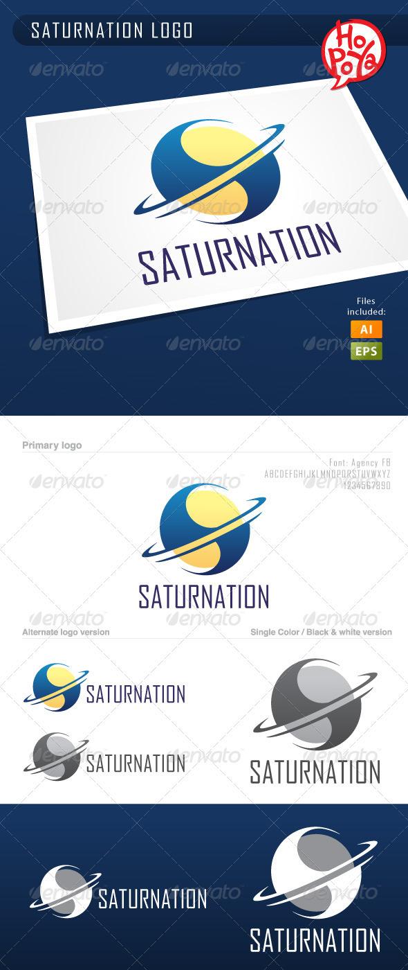 Saturnation Logo - Objects Logo Templates