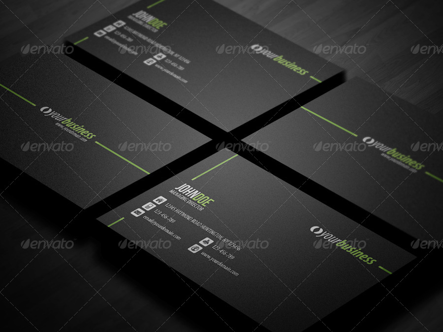 Line Corporate Business Card