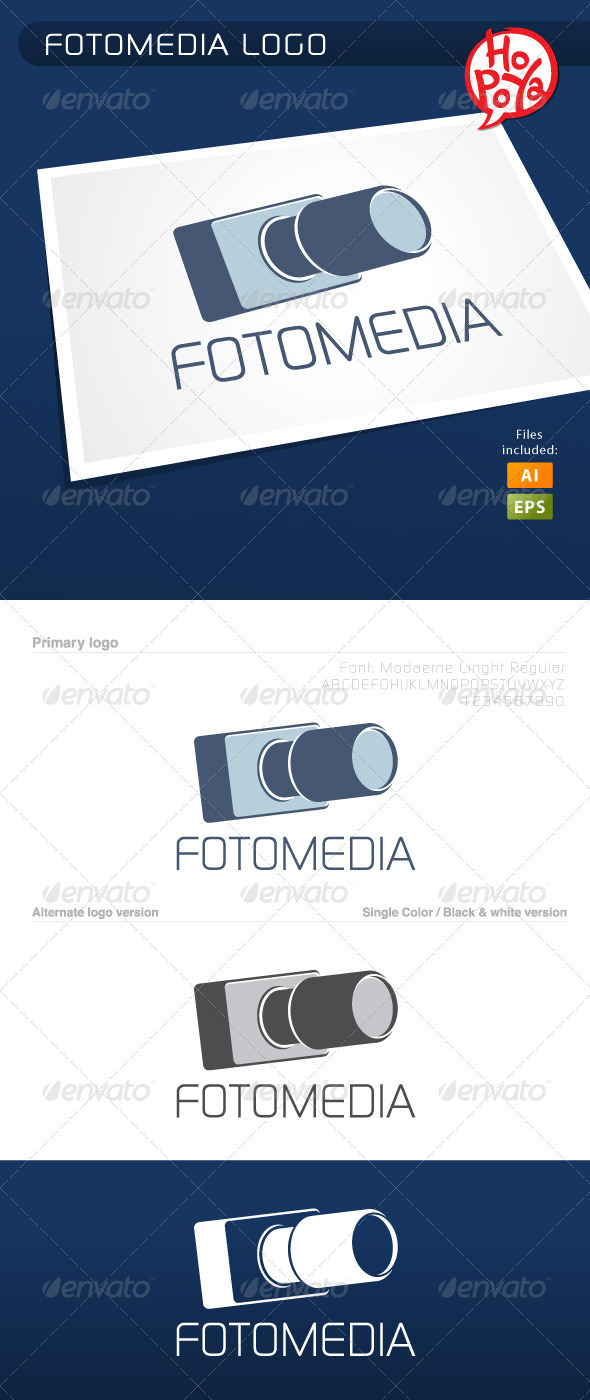 Fotomedia Logo - Objects Logo Templates