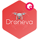 Droneva - Technology PowerPoint Template - GraphicRiver Item for Sale