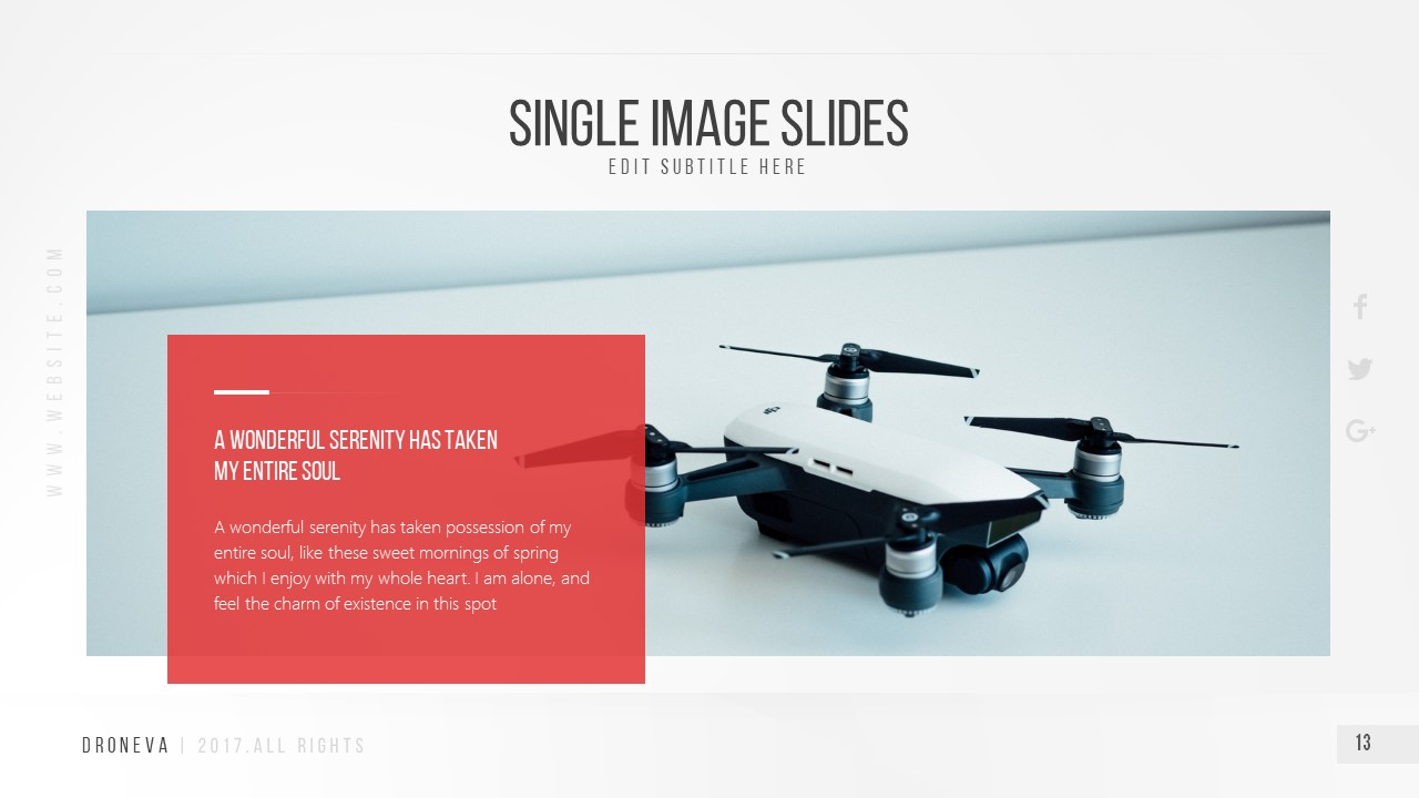 Droneva - Technology PowerPoint Template