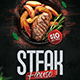 Steak House Flyer Template - GraphicRiver Item for Sale