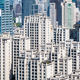 aerial view of modern residential architecture, shanghai - PhotoDune Item for Sale
