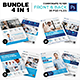 4 in 1 Corporate Business Flyer Template - GraphicRiver Item for Sale
