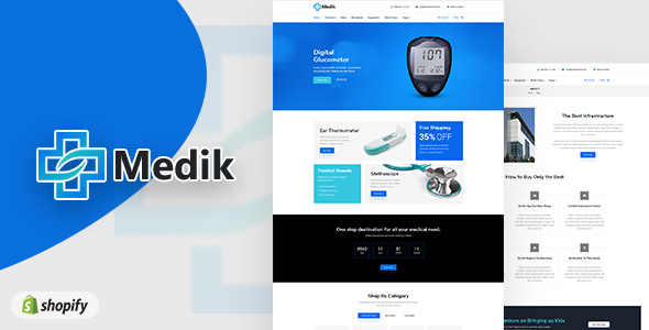 Medik | Medical Shopify Theme