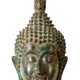 Buddha head sculpture on white - PhotoDune Item for Sale