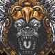 Gorilla Aztec Warrior - GraphicRiver Item for Sale