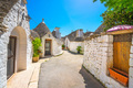 Trulli of Alberobello typical houses. Apulia, Italy. - PhotoDune Item for Sale