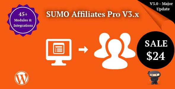 SUMO Affiliates Pro - WordPress Affiliate Plugin - CodeCanyon Item for Sale