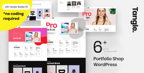 Tangle - Portfolio WordPress Agency - Portfolio Creative