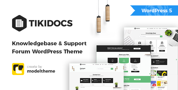 Tikidocs - Knowledgebase & Support Forum WordPress Theme - Software Technology
