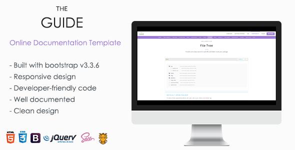 TheGuide - Online Documentation WordPress Theme - Software Technology