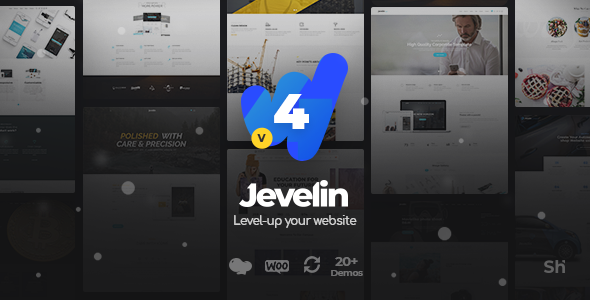 Jevelin v2.6.1 – Multi Purpose Premium Responsive WordPress Theme