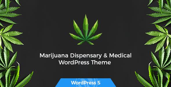 Tijuana - Marijuana Dispensary & Medical WordPress Theme - Health & Beauty Retail