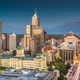 Indianapolis, Indiana, USA downtown skyline at twilight from abo - PhotoDune Item for Sale
