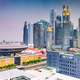 Singapore downtown skyline with the Supreme Court Building. - PhotoDune Item for Sale