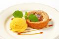 Apple tart with ice cream - PhotoDune Item for Sale