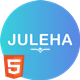 Juleha - One Page Resume Template - ThemeForest Item for Sale