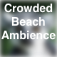 Crowded Beach Ambience