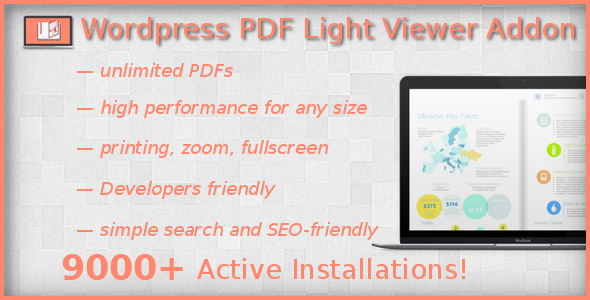 PDF Light Viewer PRO Addon - CodeCanyon Item for Sale