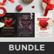 Valentine's Day Flyers Bundle - GraphicRiver Item for Sale
