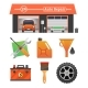 Auto Repair Icons Set - GraphicRiver Item for Sale