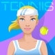 Young Woman Tennis Player Avatar - GraphicRiver Item for Sale