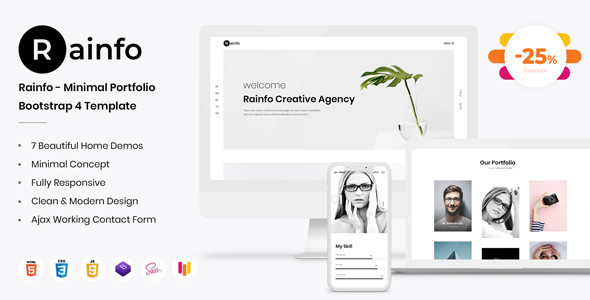 https://themeforest.net/item/rainfo-minimal-creative-portfolio-for-freelancers-agencies/23116576?ref=dexignzone