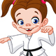 Karate Girl - GraphicRiver Item for Sale