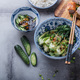 Stir-fried bok choy and pork belly, asian cuisine copy space - PhotoDune Item for Sale