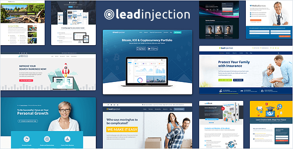 Leadinjection - Landing Page Theme - Marketing Corporate