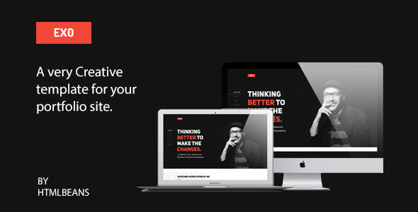 EXO - Personal Portfolio Template - Portfolio Creative