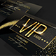 Multipurpose Gold Vip Card - GraphicRiver Item for Sale