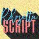 Rhosetta Script - GraphicRiver Item for Sale