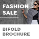Fashion Shop Sale Bifold / Halffold Brochure - GraphicRiver Item for Sale