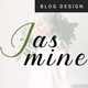 Jasmine - Ultimate Personal Blog PSD Template - ThemeForest Item for Sale