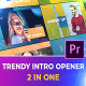 Trendy Intro Opener - VideoHive Item for Sale