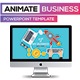 Business Animate Powerpoint Presentation - GraphicRiver Item for Sale
