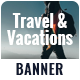 Travel & Tours Banner Set - GraphicRiver Item for Sale