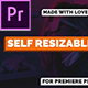 Self Resizable Title - VideoHive Item for Sale
